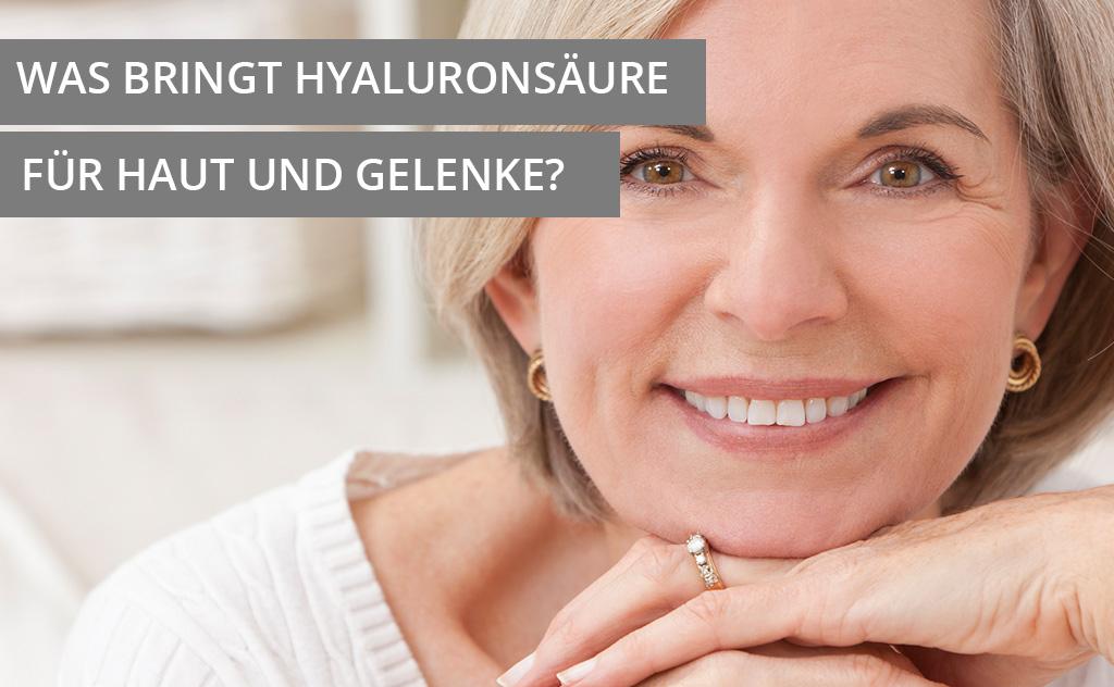 Hyaluronsäure Gelenke Haut